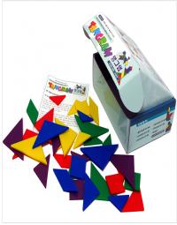 탱그램 Tangram Set (5세트 - 5가지 색상, 35조각)