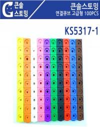 KS5317-1 큰솔스토밍 연결큐브 고급형 100PCS