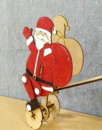 자전거 타는 산타