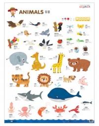 NEW 세이차트 동물(말하는 벽그림) (세이펜 미포함)