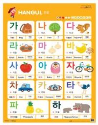 NEW 세이차트 한글 (말하는 벽그림) (세이펜 미포함)