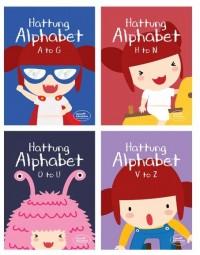 하뚱알파벳 4종 세트 (우리아이 첫 영어학습 교재)